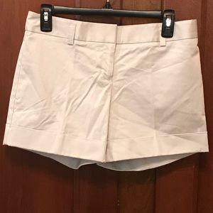 Express Cuffed Khaki Shorts Size 2